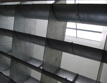 Système de filtre à air de ventilation tour