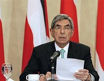 លោកប្រធានាធិបតី Oscar Arias