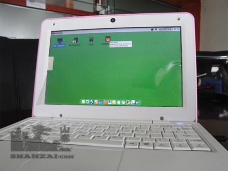 រូបភាពលើអេក្រង់កុំព្យូទ័រនេះ មិនមែន Microsoft ឬ Linux ទេគឺ Chrome OS